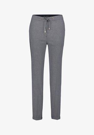 Trousers - dunkelblau/weiß