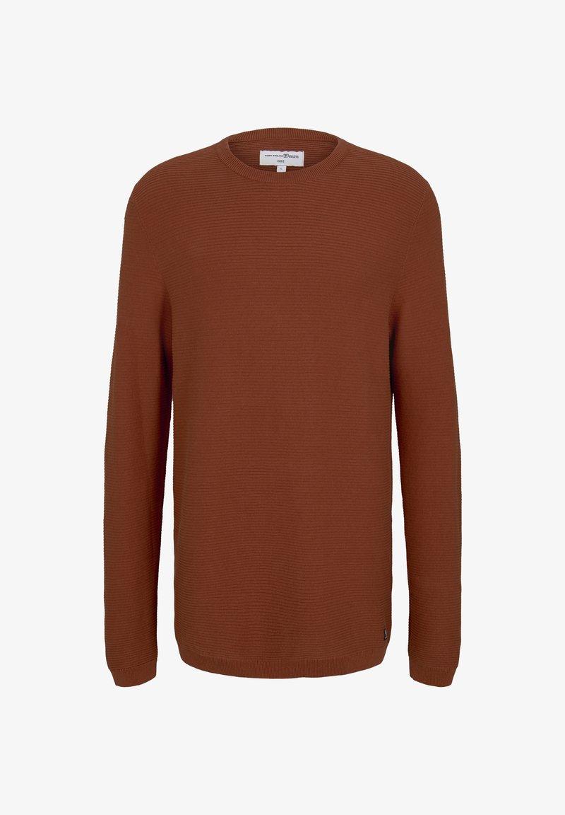 TOM TAILOR DENIM - Sweatshirt - goji orange