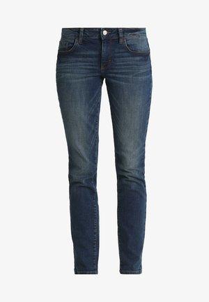ALEXA - Jeans Slim Fit - dark stone wash denim blue