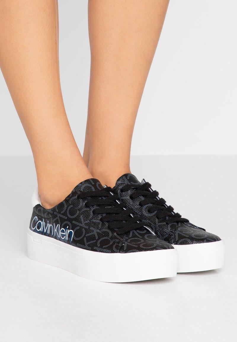 Calvin Klein - JANIKA - Zapatillas - black