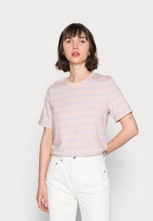 Print T-shirt - pink/purple