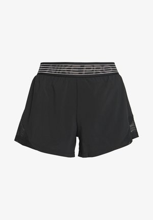 SHORT  - Sports shorts - black/thunder grey
