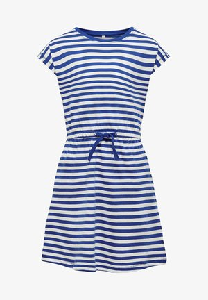 Day dress - mazarine blue