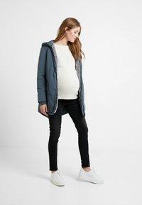 Esprit Maternity - JACKET - Winter jacket - maladive blue - 2