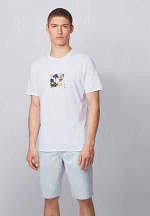TMIX - T-shirt imprimé - natural