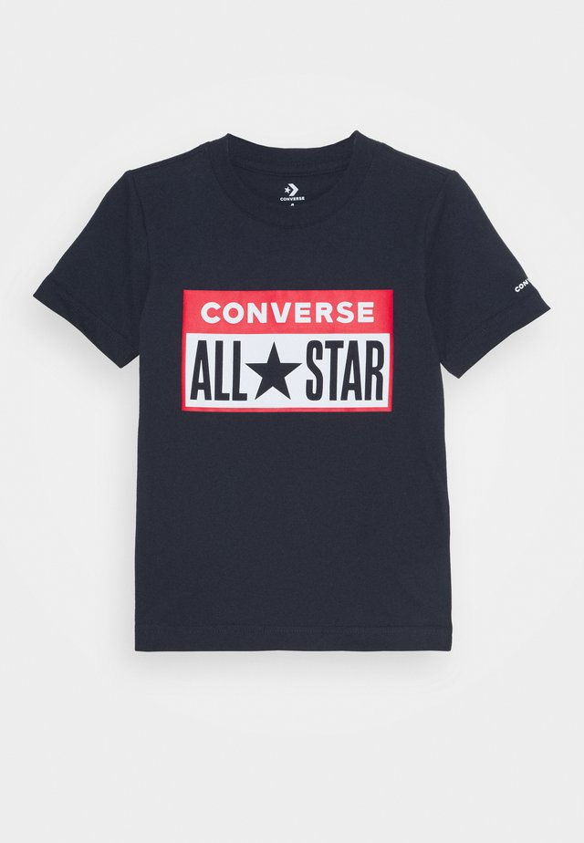 LICENSE PLATE TEE - T-shirt con stampa - obsidian