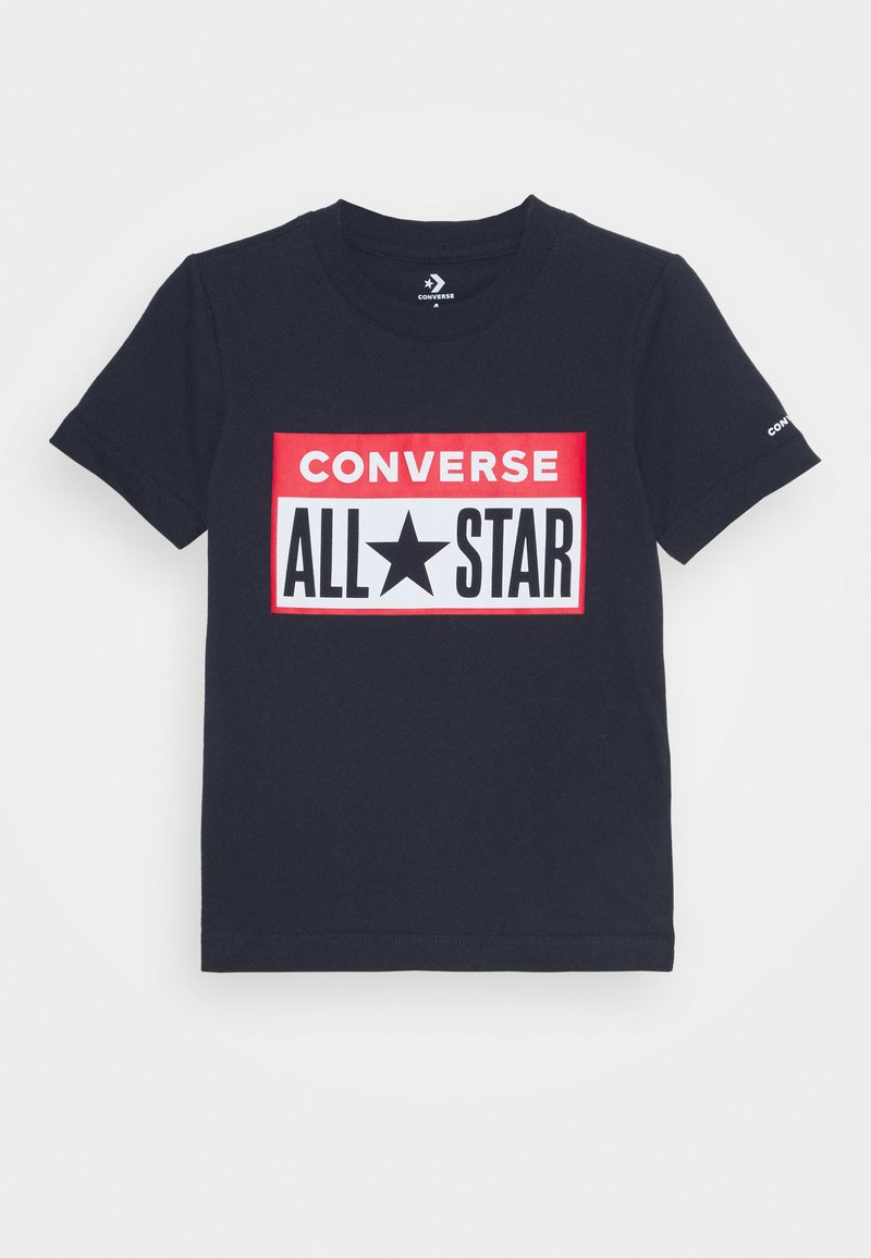 Converse - LICENSE PLATE TEE - T-shirt con stampa - obsidian