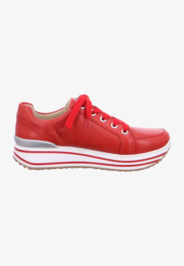 SAPPORO - Trainers - rot