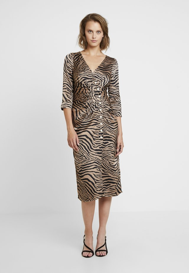 BILLIE ZEBRA DRESS - Maxi dress - multi