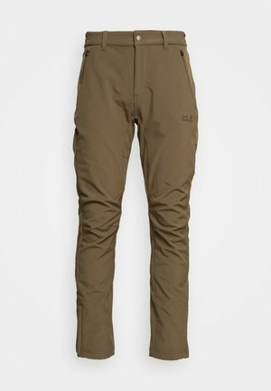 ZENON PANTS MEN - Ulkohousut - granite