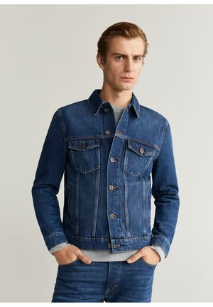 RYAN - Denim jacket - dunkelblau