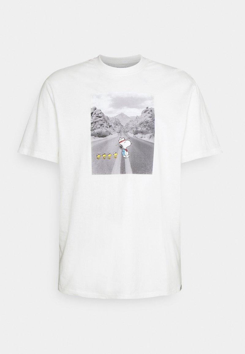 Element - PEANUTS ADVENTURE - T-shirt con stampa - off white