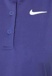 Nike Performance - POLO DRESS - Vestido de deporte - purple dust/white - 2