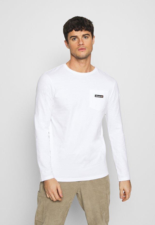 VETIO - T-shirt à manches longues - white