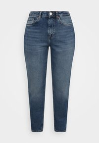 ONLY Petite - ONLVENEDA LIFE MOM  - Relaxed fit jeans - dark blue - 0