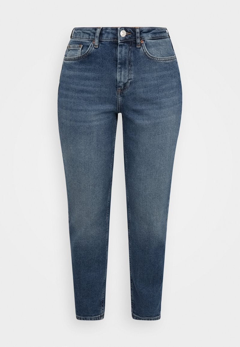 ONLY Petite - ONLVENEDA LIFE MOM  - Relaxed fit jeans - dark blue