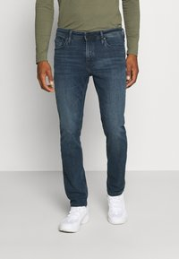 Jack & Jones - JJICLARK JJORIGINAL  - Slim fit jeans - blue denim - 0