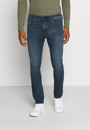 JJICLARK JJORIGINAL  - Vaqueros slim fit - blue denim