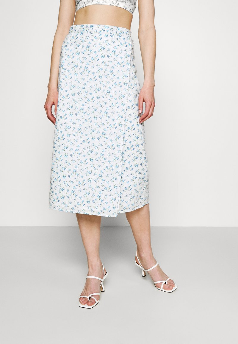 Fashion Union - PIGNA SKIRT - A-line skirt - retro ditsy print