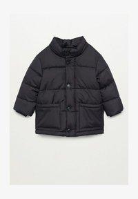 LUCA - Winter coat - schwarz