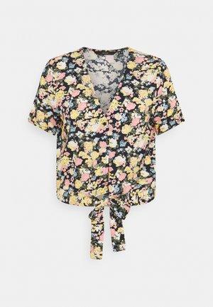 VMSIMPLY EASY TIE - Blouse - navy blazer