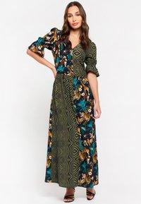 LolaLiza - AN LEMMENS - Maxi dress - khaki - 0