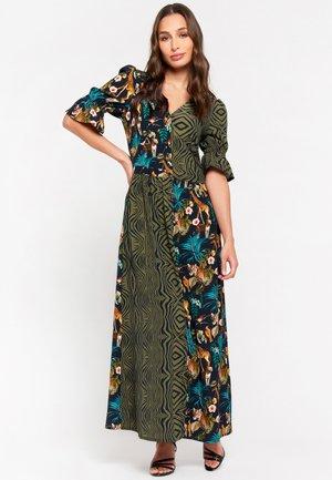 AN LEMMENS - Maxi dress - khaki