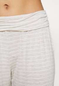 Marks & Spencer London - HANGING STRIPE SET - Pyjama set - oatmeal mix - 5
