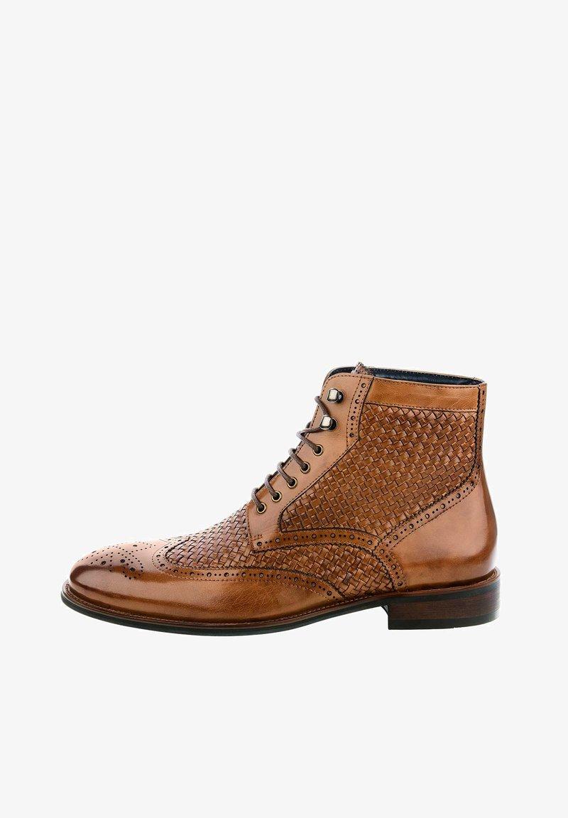 PRIMA MODA - PALINO - Šněrovací boty - brown