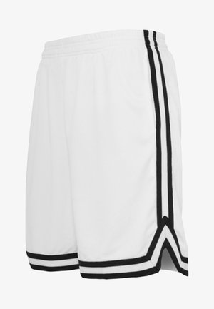 STRIPES - Pantaloni sportivi - white, black