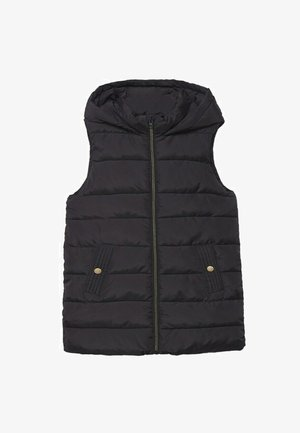 IMBOTTITO CAPPUCCIO - Waistcoat - black