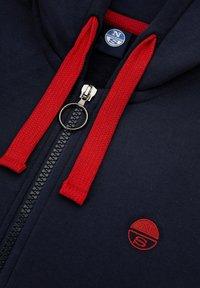 North Sails - Zip-up hoodie - navy blue - 4