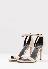 ONLY SHOES - High heeled sandals - beige - 4