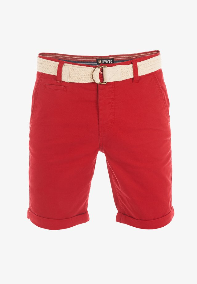 RIVHENRY - Shorts - middle red