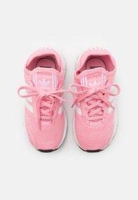 adidas Originals - SWIFT RUN X SHOES - Trainers - light pink/footwear white/core black - 3
