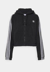 adidas Originals - Fleece jacket - black - 4