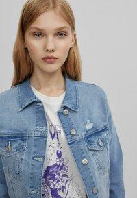 Bershka - Veste en jean - blue denim - 3