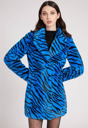 Winter coat - grundton blau