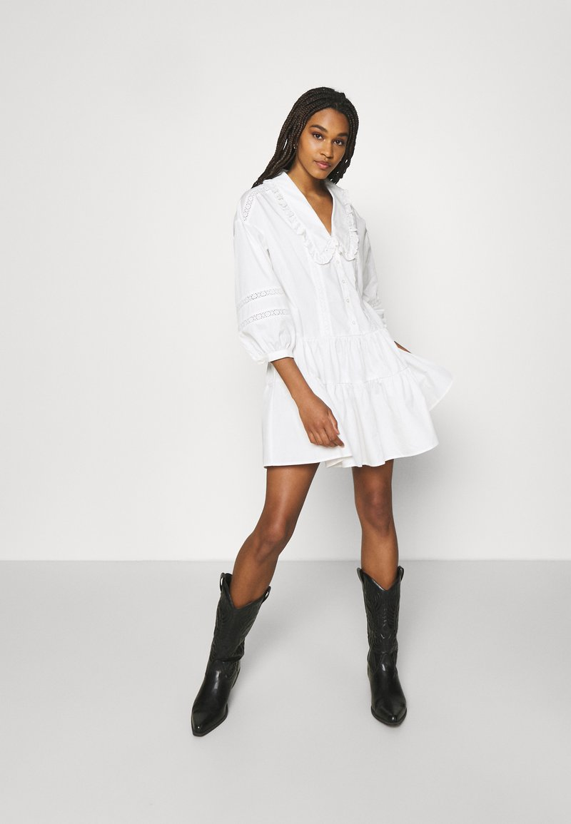 EDITED - GALILEA DRESS - Day dress - weiß