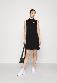 Nike Sportswear - DRESS - Vestido informal - black - 1