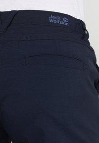 Jack Wolfskin - DESERT SHORTS  - Sports shorts - midnight blue - 3