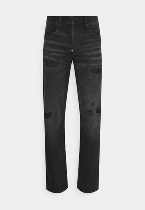 ALUM RELAXED TAPERED - Jeans relaxed fit - black