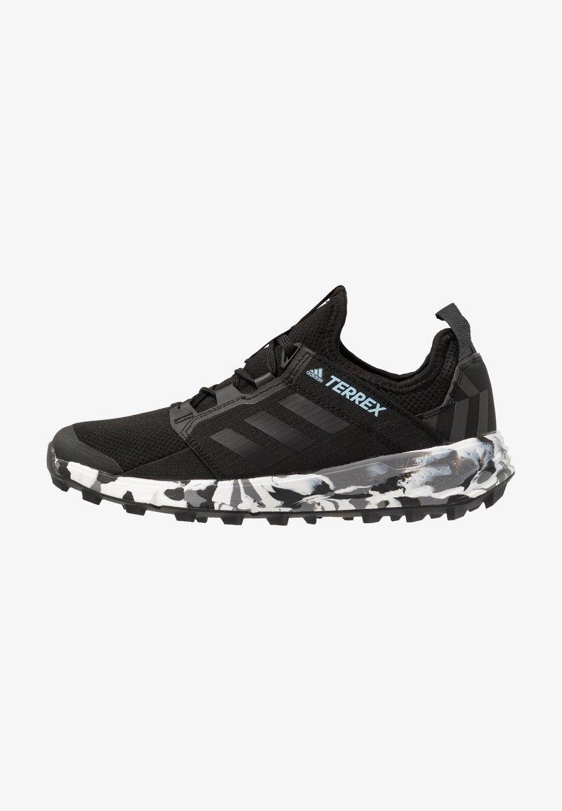 adidas Performance - TERREX SPEED LD - Trail running shoes - core black/ash grey
