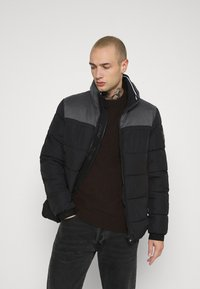 Calvin Klein - OPTIC MIX JACKET - Winter jacket - grey - 3