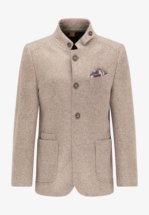 SAKKO VINCE VOYAGE - Blazer jacket - beige