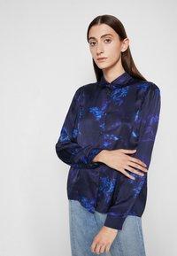PS Paul Smith - SHIRT - Button-down blouse - dark blue - 5