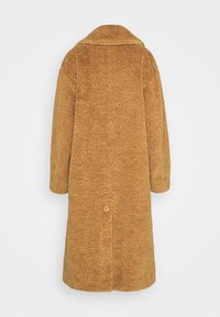 Proenza Schouler White Label - TEDDYBEAR COAT WITH SIDE SLITS - Cappotto classico - toast - 1