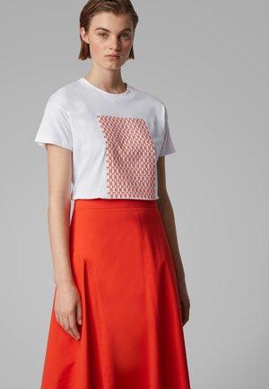 EILISSA - Print T-shirt - white