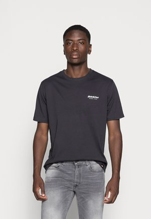 REWORKED TEE - T-shirt med print - black
