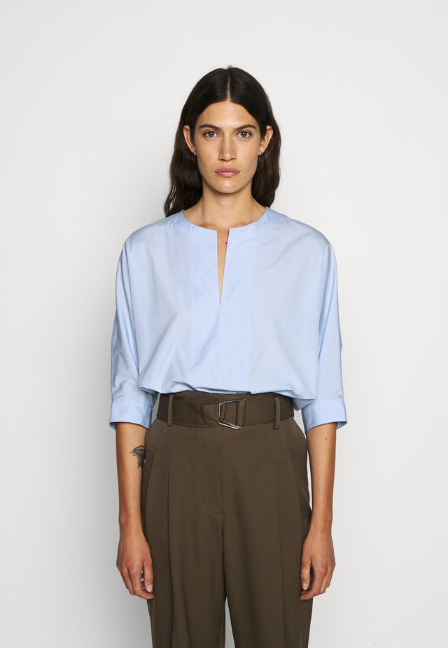 POPLIN DOLMAN SLEEVE - Bluse - oxford blue